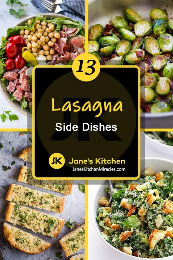 Lasagna sides pin