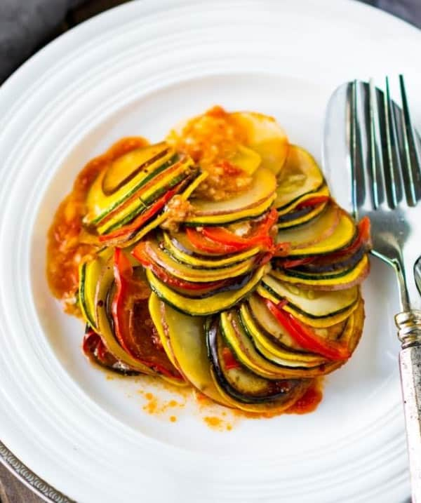 Ratatouille side dish recipe