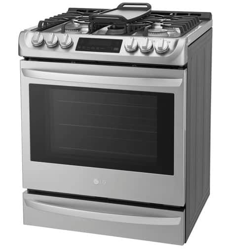 Best slide-in gas range