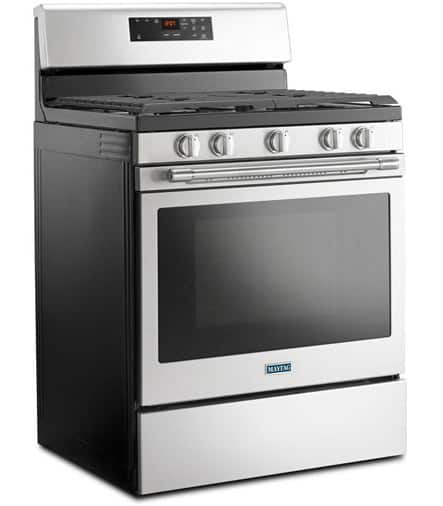 Freestanding gas range model