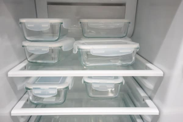 Meal planning storage containers