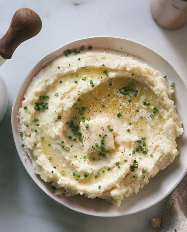 Side of mashed potatoes