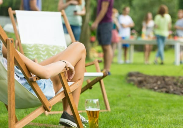Outdoor party seating ideas