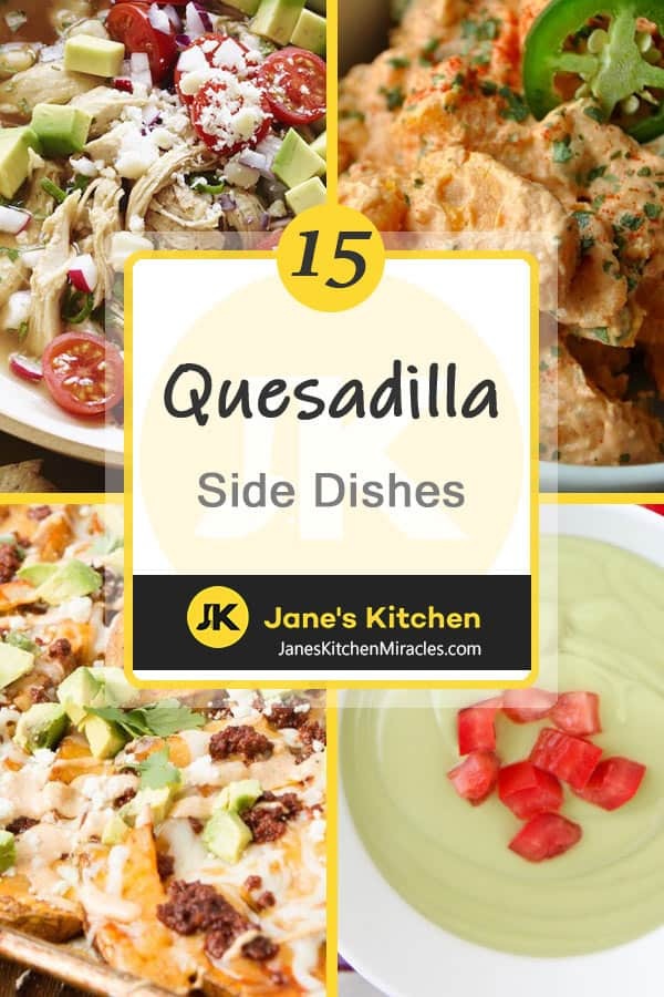 Side dishes for Quesadillas pin
