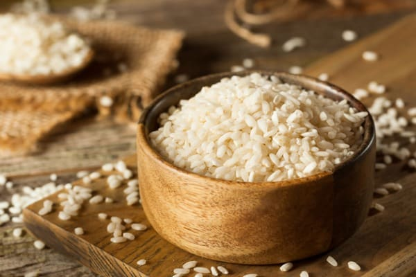Short-grain rice for risotto