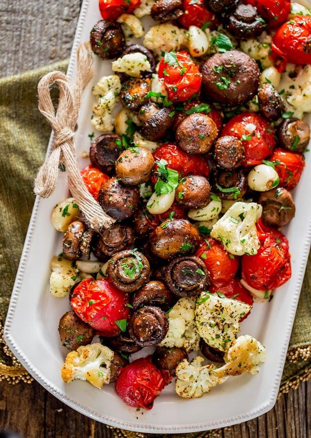 Roasted veggie side dish