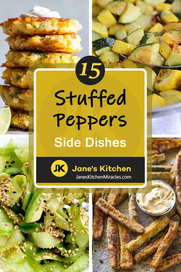 Stuffed peppers side dishes pin