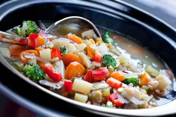 Slow cooking and pressure cooking