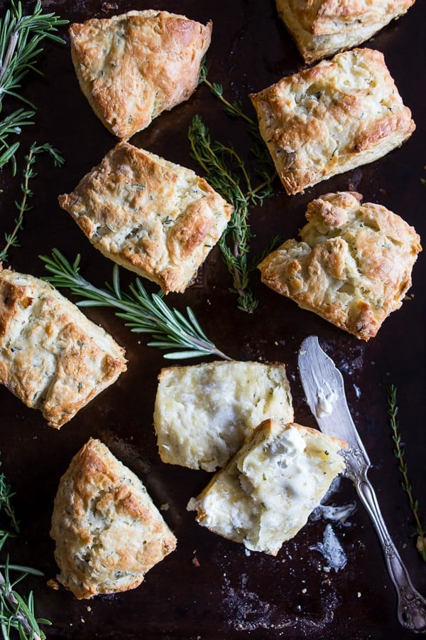 Herb biscuits is what goes with lobster