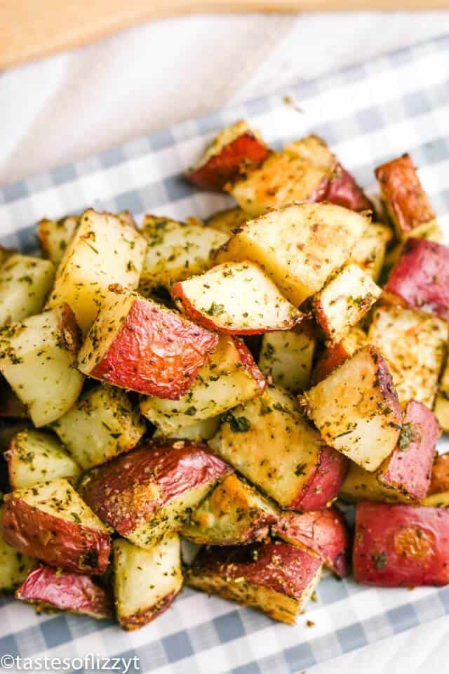 Red potatoes roasted