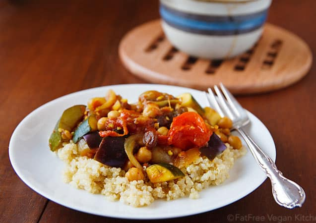 Vegetable Ragout with Quinoa