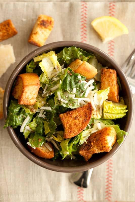 Big Caesar salad