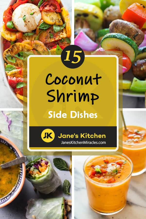 Coconut shrimp side dish ideas - pin