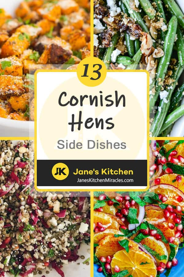 Cornish Hens side dishes pin