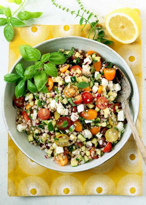 Couscous side salad