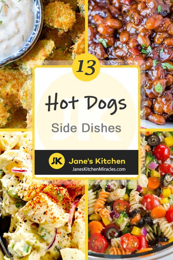 Hot Dogs side dishes pin