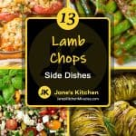 What to eat with lamb chops pin
