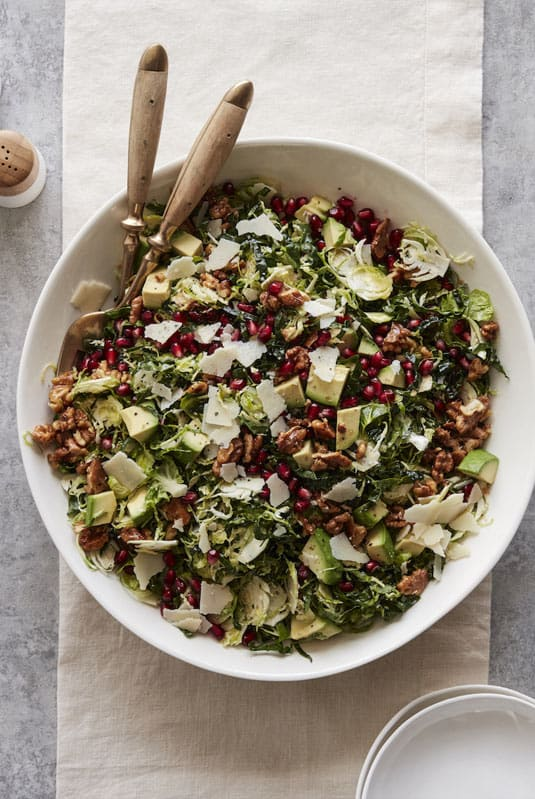 Brussels sprouts salad side