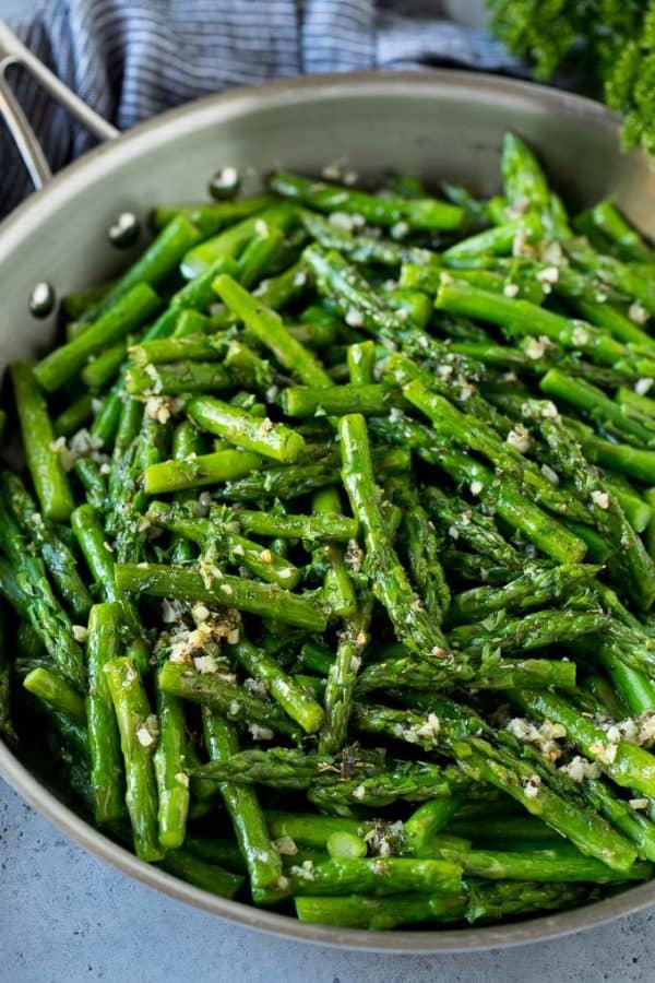 Sautéed Asparagus as a side dish