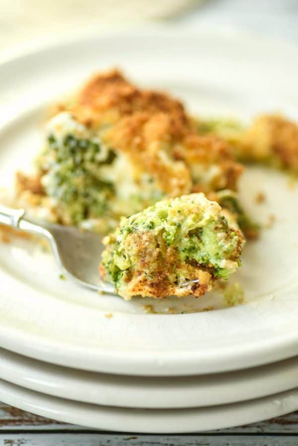 Broccoli Gratin for what goes with beef tenderloin