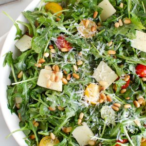 Arugula side salad