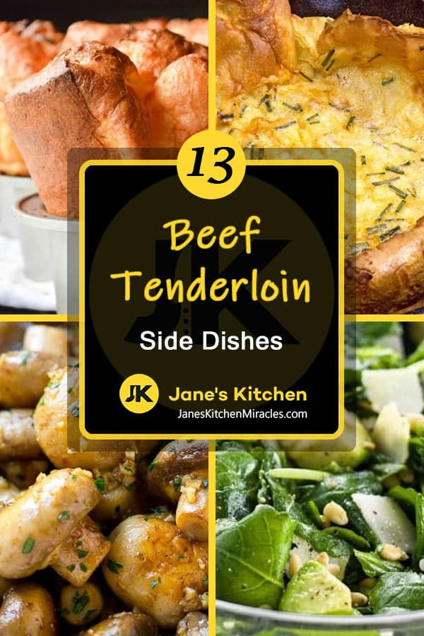 Beef tenderloin sides pin