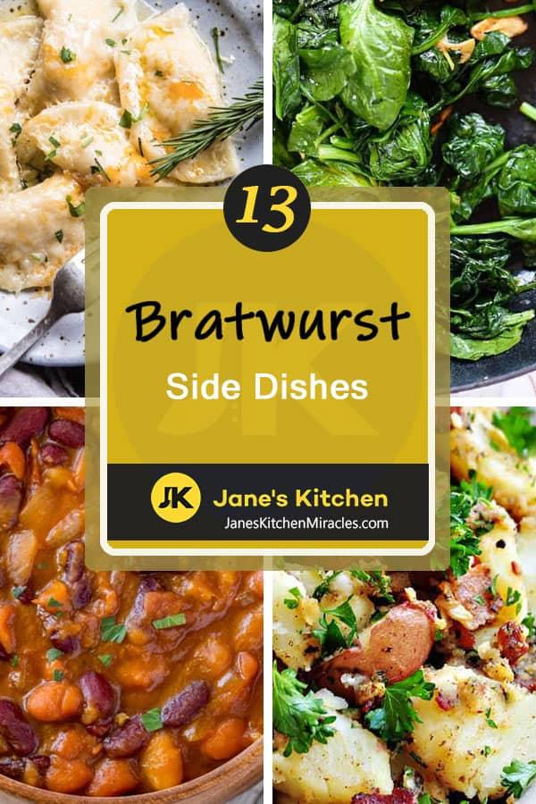 Bratwurst sides pin