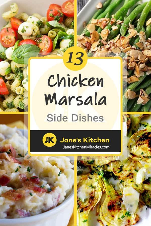 Chicken marsala sides pin