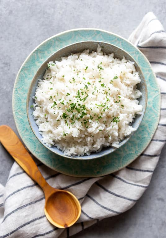 Coconut rice dish