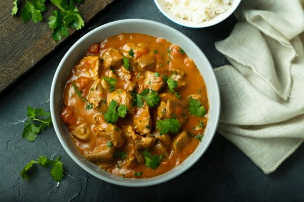 crockpot curry chicken