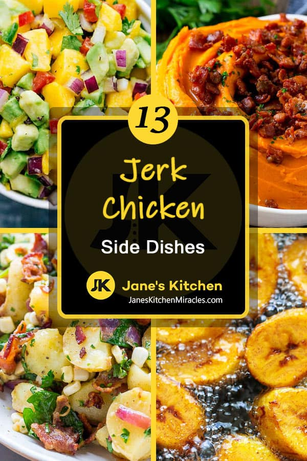 Jerk chicken sides pin