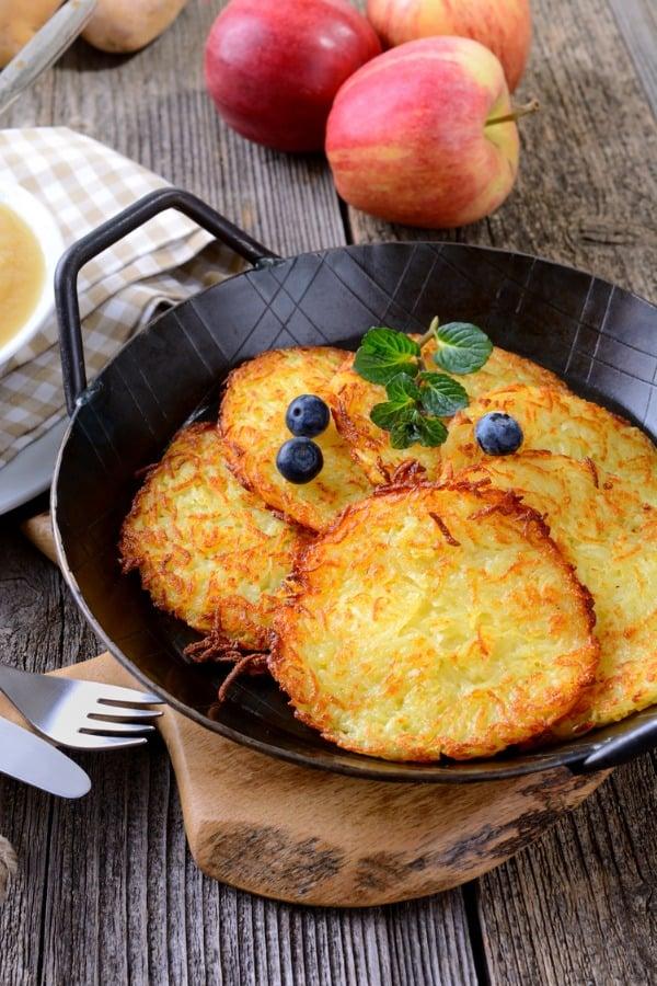 Kartoffelpuffer potato pancakes