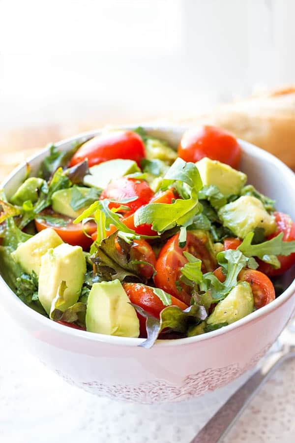 Tomato Avocado Salad recipe