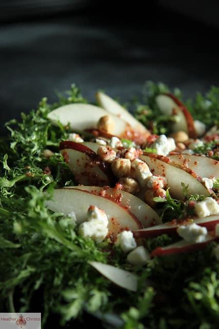 Apple Frisee Salad