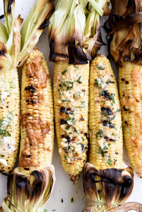 Side of Grilled Corn