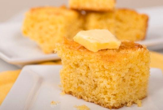 Side of cornbread