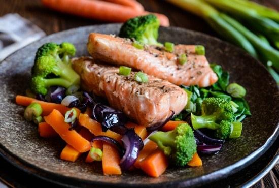 Side of steamed veggies