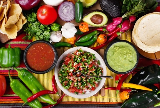 Side dishes for Mexican food