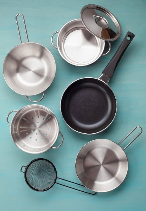 True stainless steel vs non-stick stainless steel