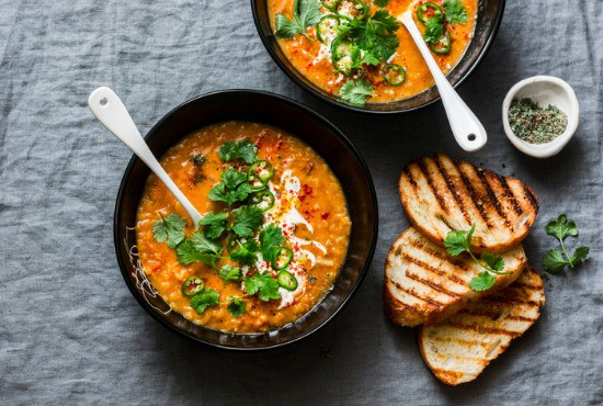 What goes with soups and bread