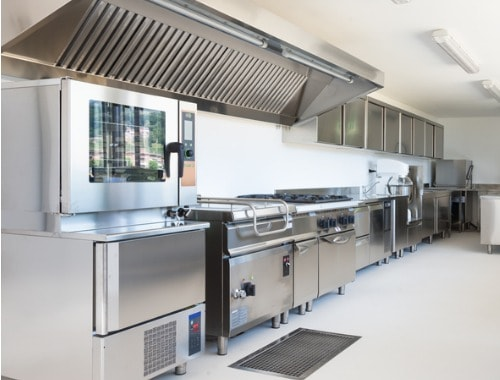 Commercial kitchen equipment types