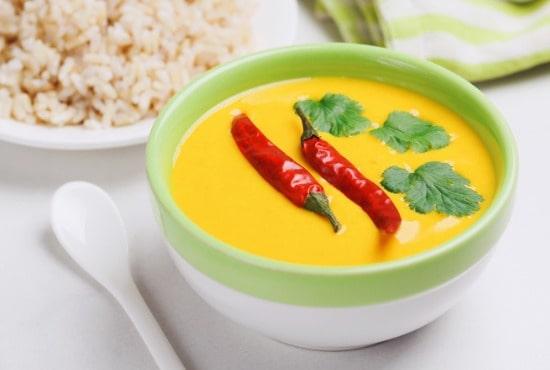 vegetarian curry gujarati kadhi