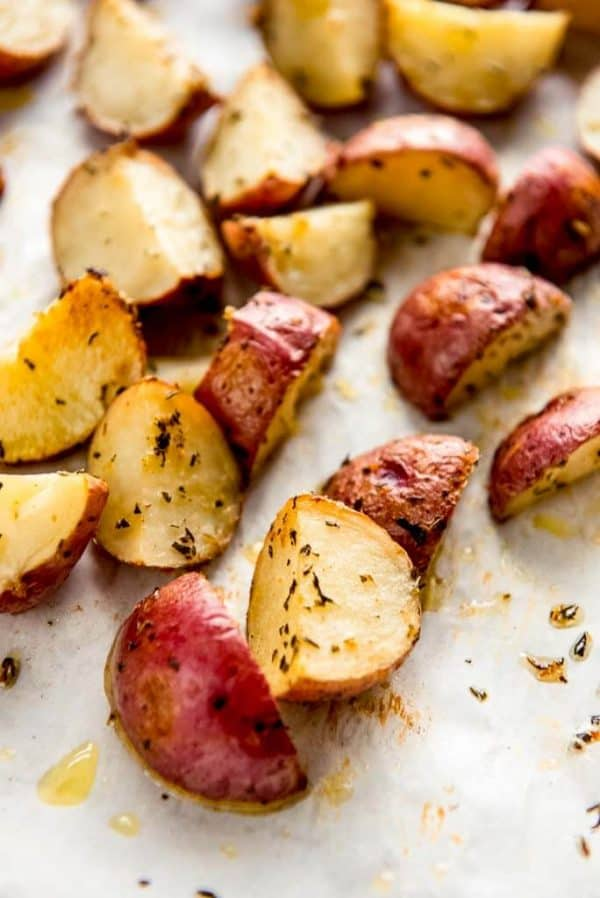Side of Roasted Baby Potatoes