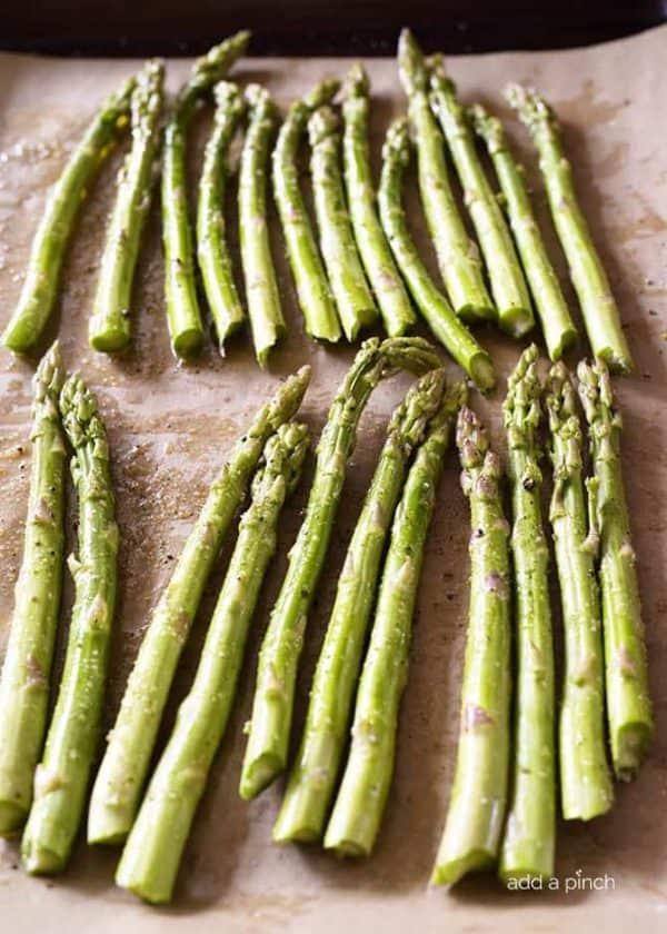 Butter Roasted Asparagus