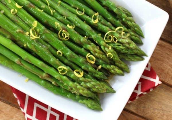 Asparagus with Lemon Vinaigrette