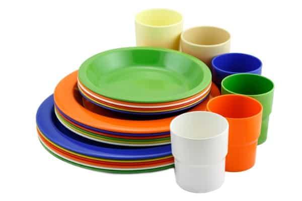 dinnerware sets type melamine