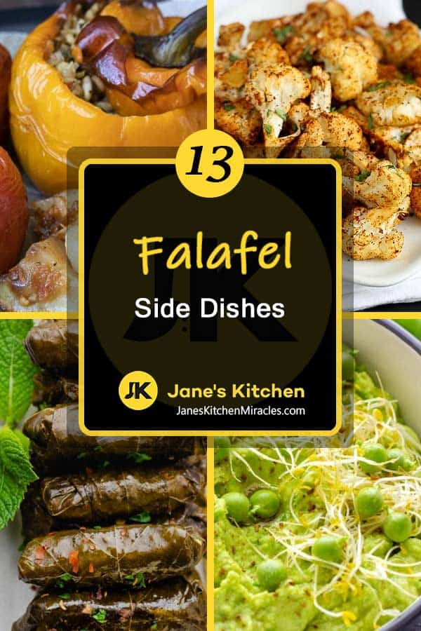 what to eat with falafel pin