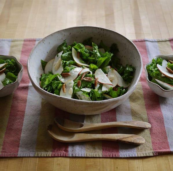 Side of Mustard Greens Salad