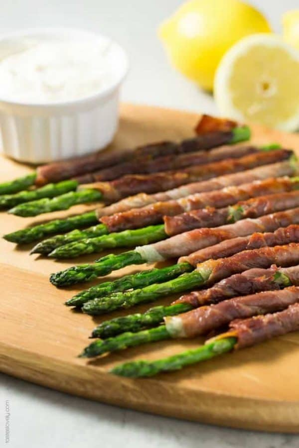 Side of Prosciutto Asparagus