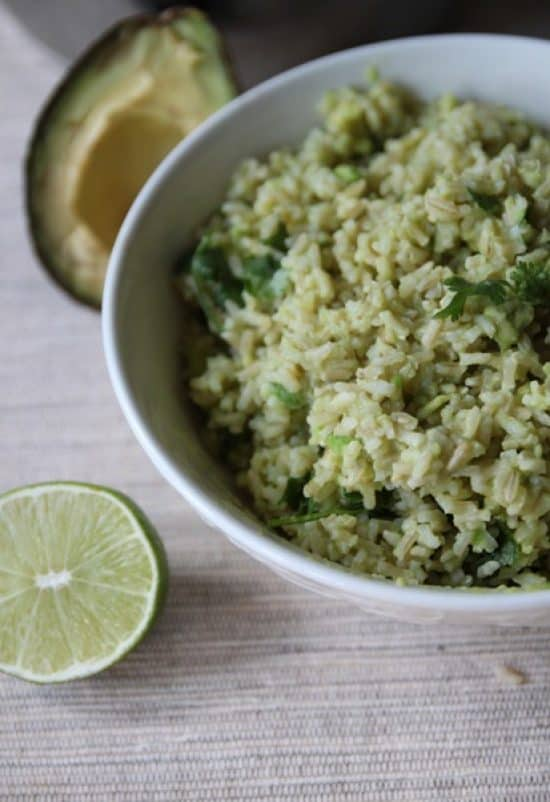 avocado rice side